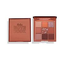 Bảng phấn mắt 9 màu Notebook tone hồng cam đào hãng NOVO
