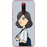Ốp lưng dành cho Xiaomi Redmi 8 mẫu Em chụp ảnh