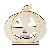Wooden Candle Lamp Festival Party Supplies Wooden Decoration Candle Lamp Pumpkins