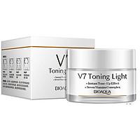 Kem Dưỡng Trắng Bioaqua V7 Toning Light Cream nội địa Trung