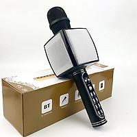 Micro Karaoke Bluetooth Kèm loa Bass GUTEK YS91 Âm Thanh Chất Lượng, Âm Bass Cực Ấm, Mic Bắt Giọng Cực Tốt, Hỗ Trợ Kết Nối USB, Thẻ Nhớ, Cổng 3.5, Nhiều Màu Sắc - Hàng chính hãng