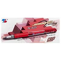Hộp 20 Bút Thiên Long TL025 (Đỏ)