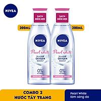 Combo 2 Nước Tẩy Trang NIVEA Pearl White Làm Sáng Da Micellar Water 200ml - 84911