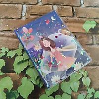Sổ Tay 70 Trang Kim Tuyến Nước Kích Thước (11cm x 14cm) - Thiếu Nữ