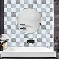 Set 24 Miếng Decal Gạch Bông - Decal dán tường, kính, sàn nhà, gỗ (20 x 20 cm)
