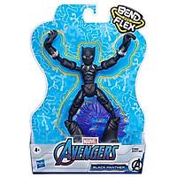 Đồ Chơi Nhân Vật Black Panther Avengers Bend N Flex E7868
