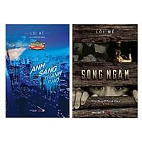 Combo Truyện Trinh Thám Đặc Sắc : Ánh Sáng Thành Phố + Sông Ngầm ( Tặng Kèm Bookmark Thiết Kế )