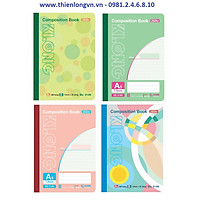 Sổ may dán gáy A5 - 260 trang; Klong 914