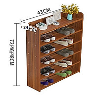 Kệ để giày đơn giản hộc tủ nhỏ lưu trữ thích hợp cho gia đình nhiều tầng đẹp