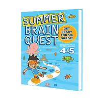 Summer brain quest 4&5 - Sách phát triển tư duy - Genbooks ( Tiếng Anh, 9-10 tuổi )