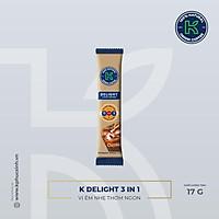 Stick Cà phê sữa hòa tan K Delight 3in1
