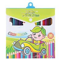 Bút Chì Màu 24 Màu HJ6624 Little Pine Tree Pencils - NQ