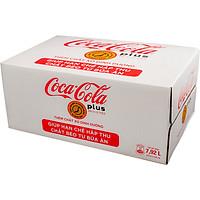Thùng 24 Lon Nước Giải Khát Coca-Cola Plus (Foshu) 320ml x24