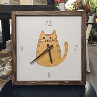 Đồng hồ treo tường canvas Artclock Soyn C65