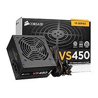 Bộ Nguồn Máy Tính Corsair Gaming VS450 Công Suất Thực  450W - 80 Plus White ( PSU Corsair Builder Series VS450 ) - HÀNG FPT PHÂN PHỐI