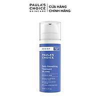 Dung dịch loại bỏ tế bào chết  làm mềm da Paula's Choice Resist Daily Smoothing Treatment With 5% AHA 50 ml