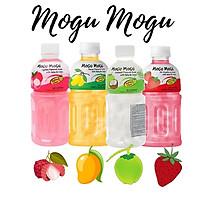 Nước uống thạch dừa Mogu Mogu 320ml x 3chai (ngẫu nhiên vị đào, dưa hấu, xoài, vải)