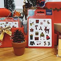 Hình dán MiDeer chủ đề Giáng sinh cho bé yêu mùa Noel - MIDEER COLORFUL STICKER CHRISMAS MD4009
