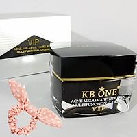 Kem Ngừa mụn trắng da, mờ thâm cao cấp Kbone (VIP đen 15g) - Tặng Kèm Cột Tóc Nữ Tính Ngẫu Nhiên