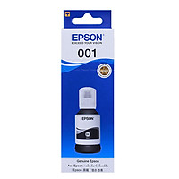 Mực EPSON 001 màu đen hính hãng,Dùng cho máy Epson L4150, L4160, L6160, L6170 và L6190