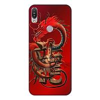 Ốp lưng điện thoại Asus Zenfone Max Pro M1 hình Rồng Đỏ