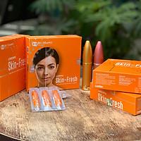 Skin Fresh - Bào tử lợi khuẩn dạng xịt bay mụn, kháng khuẩn, trắng mịn da (6 tỷ lợi khuẩn sống/5ml dành cho da mụn mủ, mụn bọc, mụn cám,viêm da và người dị ứng kem trộn, kem lột  da)