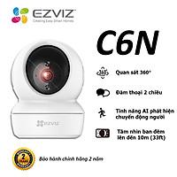 Camera WI-FI EZVIZ C6N-1080P, Smart IR Quan Sát Ban Đêm 10m, Trong Nhà Đàm Thoại 2 Chiều, theo Chuyển Động Thông Minh--Hàng Chính Hãng