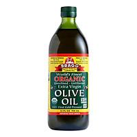 [Chỉ Giao HCM] - Dầu Extra Virgin Olive Ép Lạnh Hữu Cơ 473ml Bragg