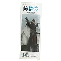 Bookmark Trần Tình Lệnh hộp ảnh tập ảnh đánh dấu sách 36 tấm Ngụy Vô Tiện Lam Vong Cơ Ma Đạo Tổ Sư phim Trần Tình Lệnh tặng ảnh thiết kế vcone