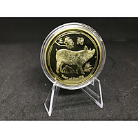 Xu Hình Con Heo Úc Mạ Vàng Dễ Thương Làm quà Biếu TMT COLLECTION Tinh Xảo, Đẹp Mắt HUMV200