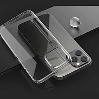 Ốp lưng cho iPhone 12 Pro Max (6.7 inch) chống sốc siêu mỏng 1mm Hiệu Memumi Glitter Độ trong tuyệt đối, chống trầy xước, chống ố vàng, tản nhiệt tốt - hàng nhập khẩu