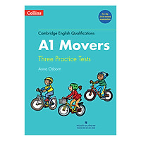 Collins A1 Movers - Tree Practice Tests - Kèm 1 MP3 (Format 2018)