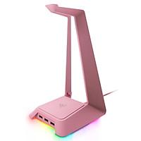 Giá đỡ tai nghe Razer Base Station Chroma Quartz Pink Edition - Hàng Chính Hãng
