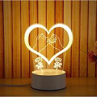 Đèn Ngủ Trang Trí LED 3D Siêu Cute Nhiều Mẫu