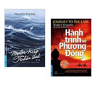 Combo 2 cuốn :   Muôn Kiếp Nhân Sinh 2+ Hành Trình Về Phương Đông