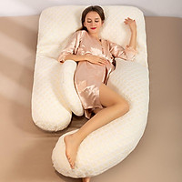 Pregnant Pillows Cotton Waist Protection Belly Support U-shaped Multifunctional Pillow For Pregnant Women