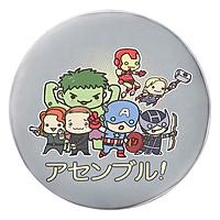 Gối Ôm Tròn Chibi Avengers - GOFF139