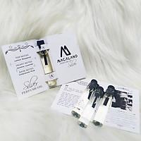 Nước hoa unisex Silver MACALAND (sample) dành cho nam và nữ ưa thích hương mát mẻ nhẹ nhàng hàng chính hãng công ty, xuất xứ Việt Nam