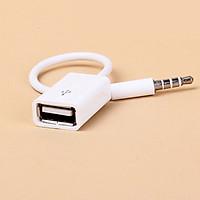 Cáp Chuyển Đổi Jack 3.5mm Sang USB 2.0 - Trắng