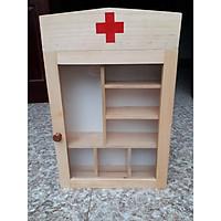 Tủ thuốc gia đình bằng gỗ BT06