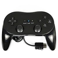 TAY PRO CONTROLLER CHO MÁY WII TRÒ CHƠI WII TAY CẦM MẦU ĐEN Wii Classic Controller Pro - Black
