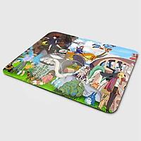 Miếng lót chuột mẫu Ghibli Vui Vẻ (20x24 cm) - Hàng Chính Hãng