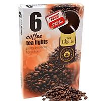 Hộp 6 nến thơm tinh dầu Tealight Admit Coffee QT026107- hương cà phê
