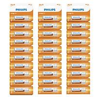 Combo 3 Vỉ - Pin Kẽm Philips AA R6L10S (30 Viên AA)