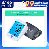 U81NH Automatic Upper-arm Blood Pressure Monitor Digital Blood Pressure Meter with Large Cuff Fits 8.7-inch to 16.5-inch