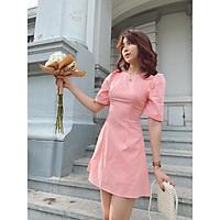Đầm hồng Ladozi dress Gem Clothing SP060384