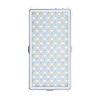 Đèn LED Chiếu Sáng Di Động Với Màn Hình Hiển Thị 3200-5600K LituFoto F18 Bạc