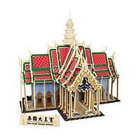 Bộ xếp hình 3D gỗ - ĐẠI HOÀNG CUNG - THAILAND PALACE