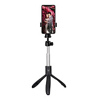 Gậy tự sướng selfie stick tripod có remote bluetooth  k05