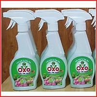 Bình Xịt Diệt Ruồi Muỗi Kiến Ba Khoang Gián Mối Thảo Mộc OXO Sinh Học Chai 300ml An Toàn Cho Trẻ Em Hiệu Quả Cao